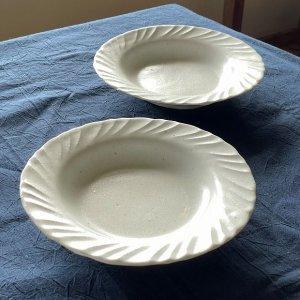 白磁スープ皿