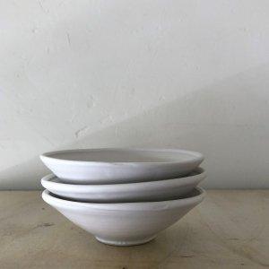白磁マット4.5寸鉢