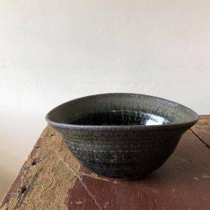 黒流星たわみ鉢
