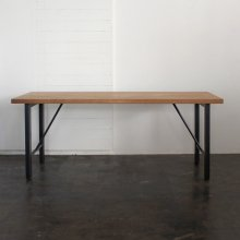 【Holz】 Metal leg table