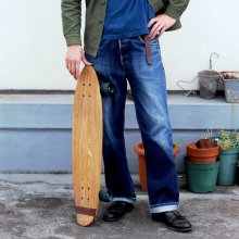 Solid Wood Skate Board - Reguler / CLAMP