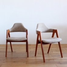 "<img class='new_mark_img1' src='//img.shop-pro.jp/img/new/icons47.gif' style='border:none;display:inline;margin:0px;padding:0px;width:auto;' />Vintage Dining chair / Kai Kristiansen, ""Compass""(2脚set)"