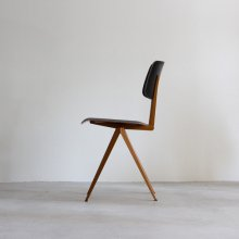 Galvanitas S.16 Chair / eboney × ocher brown