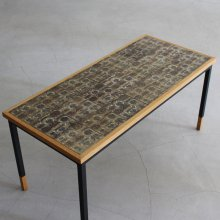 Vintage Tile top Coffee table / Royal Copenhagen(BACA)