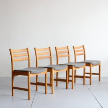 Vintage Dining chair|Poul M.Volther model343 (2脚set)