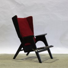 【Before repair】Vintage Wing back easy armchair / 1960's UK