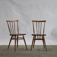 "【Before repair】Vintage Dining chair / ""Stick back"" Ercol"