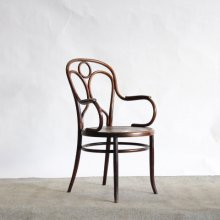 "【Before repair】Antique Bentwood Arm chair / Michael Thonet, ""Angel"" model.19 Fischel 1900's France"