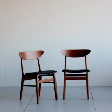 Vintage Dining chair / ( 2脚set )