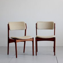 Vintage Dining chair / Erik Buch 2脚set (張替代込)