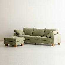 Dover 3seat sofa + Ottoman