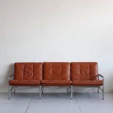 "Vintage 3Seat sofa|Preben Fabricius & Jorgen Kastholm ""FK6720"