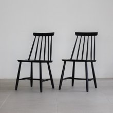 <img class='new_mark_img1' src='https://img.shop-pro.jp/img/new/icons20.gif' style='border:none;display:inline;margin:0px;padding:0px;width:auto;' />nord Stick Back Chair Black 2脚set(展示現品)