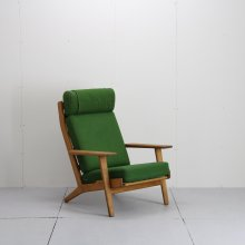 Vintage 1Seat sofa & Ottoman / Hans J.Wegner, GE290,High back  Easy chair
