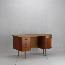 "Vintage Desk|Kai Kristiansen ""model.54"" Kidney desk"