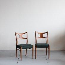 Vintage Dining chair  2脚セット|Kurt Ostervig model.46