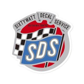 シックスティワット デカール サービス ステッカー  ラージサイズ