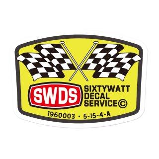 シックスティワット デカール サービス ステッカー  | SWDS-002