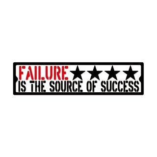 失敗は成功のもと| コトワザ ステンシル 転写ステッカー | PST047