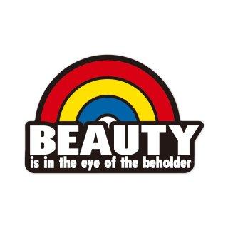 美は見る人の中にある | コトワザステッカー PS071