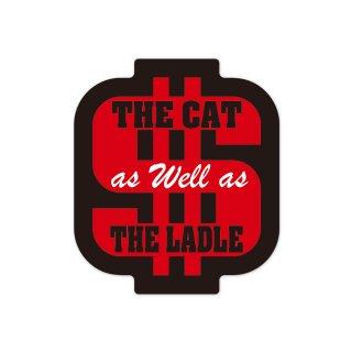 猫も杓子も| コトワザステッカー PS161