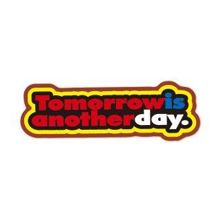 明日は明日の風が吹く | コトワザステッカー PS059