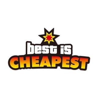 一番良いものが一番安い | コトワザステッカー PS060