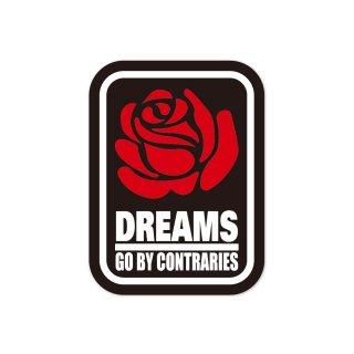 夢は逆さになる  | コトワザステッカー PS116
