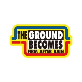 雨降って地固まる| コトワザステッカー PS189