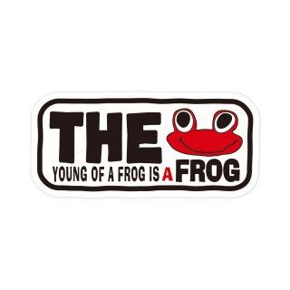 蛙の子は蛙| コトワザステッカー PS205