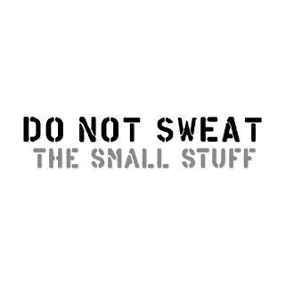 小さいことに、くよくよするな| コトワザ ステンシル 転写ステッカー | PST067