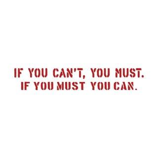 やるしかないでしょ| コトワザ ステンシル 転写ステッカー | PST072