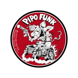 SAMURAI TRUCKS K-FUNK ステッカー/ PIPO FUNK | ST-KF-01/ CARTOON MASTER