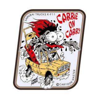 SAMURAI TRUCKS K-FUNK ステッカー/ CARRIE ON CARRY | ST-KF-11/ CARTOON MASTER