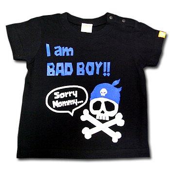 SORRY MOMMY-T (BOYS/ブラック/海賊編)