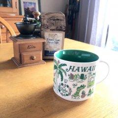 スターバックスマグカップ(ハワイグリーン)