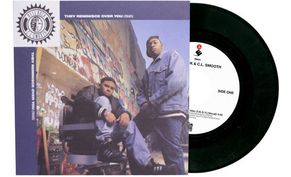 Pete Rock & C.L. Smooth / They Reminisce Over You - T.R.O.Y (7