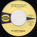 """Gil Scott-Heron / The Revolution Will Not Be Televised - Home Is Where the Hatred Is (7"""")"""