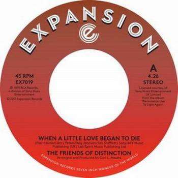 "The Friends Of Distinction / When A Little Love Began To Die - Ain't No Woman (7"")"
