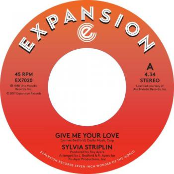 "Sylvia Striplin / Give Me Your Love - You Can't Turn Me Away (7"")"