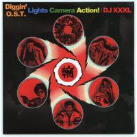 DJ XXXL / Diggin' O.S.T. - Lights Camera Action! (MIX-CD/紙ジャケ)
