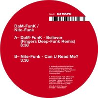 DaM-Funk / Nite-Funk : BELIEVER - Fingers Deep-Funk Remix (12