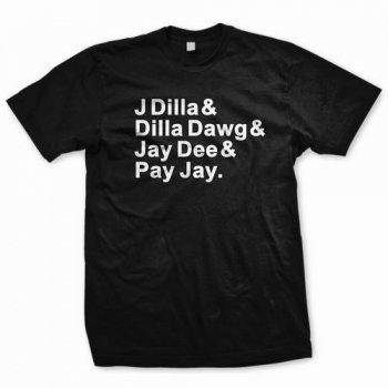 J Dilla / ALIASES T-SHIRT (T-Shirts/size L)