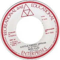 Billy Cole : Little Green Apples / Mystic Mood (7