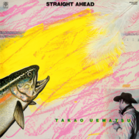 植松孝夫: STRAIGHT A HEAD (LP/reissue/with Obi)