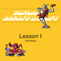 OLD NICK aka DJ HASEBE : ULTIMATE BREAKS & BEATS - Lesson 1 (MIX-CD)