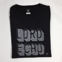 LORD ECHO : LOGO Tシャツ by Yuichi Date (T-shirts/Black)