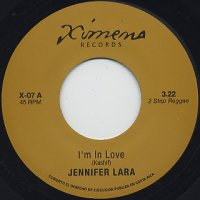 "JENNIFER LARA / JOE CRUZ : I'M IN LOVE / BLACK WIDOW (7"")"