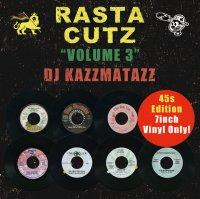 DJ KAZZMATAZZ : RASTA CUTZ VOL.3 (MIX-CD)
