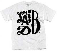 Madlib : Madlib x Parra T-shirts (WHITExBLACK/size-M)